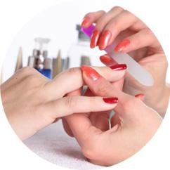 Manucure soins esthétique des mains et des pieds